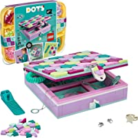 LEGO DOTS Jewelry Box 41915 Craft Decorations Art Kit, for Kids Who are Into Cool Arts and Crafts, A Great Entrance into…