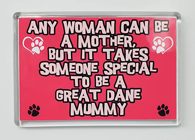 I/'M NOT JUST A DOG PERSON I/'M A GREAT DANE MUMMY FRIDGE MAGNET GIFT DOG