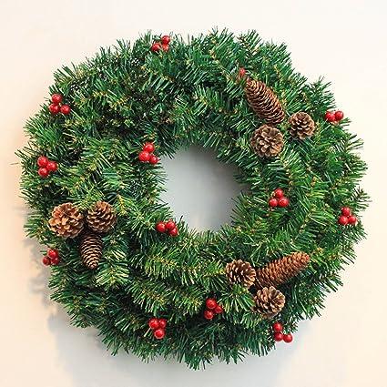 FXTXYMX Wreath Spring Front Door Wreath Greenery Garland Home Office Wall  Wedding Decor Bow Door Hanging