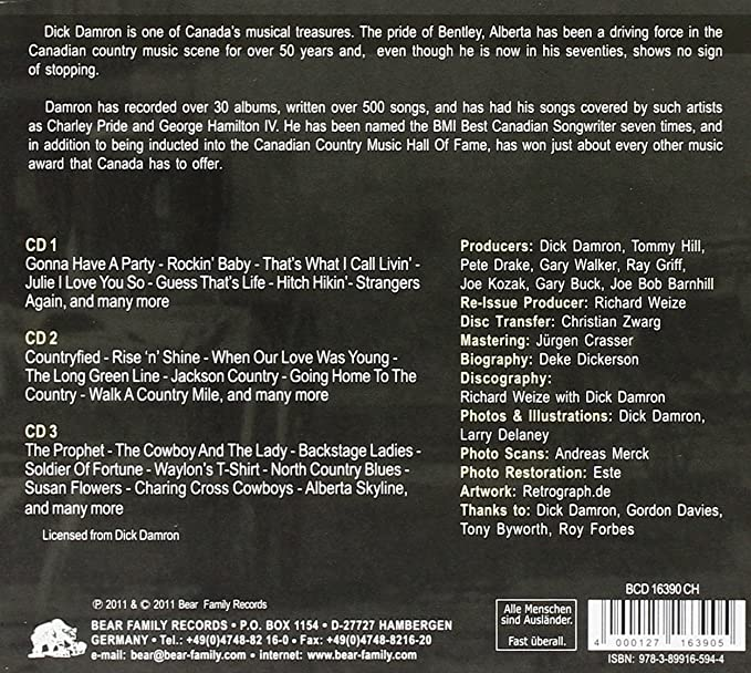 cadd2307d210 More Than Countryfied: Dick Damron: Amazon.ca: Music