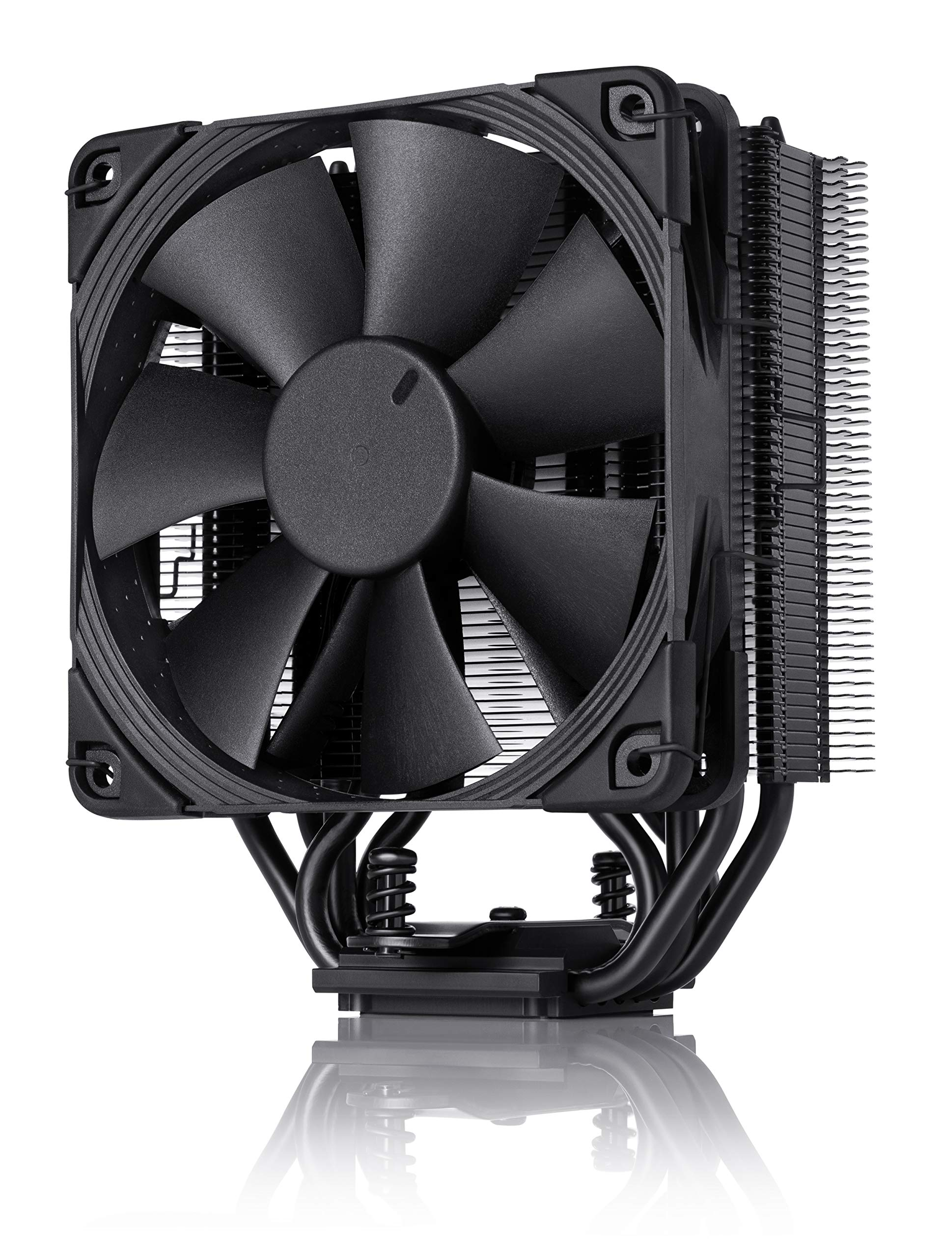 NOCTUA NH-U12S chromax.Black, 120mm Single-Tower CPU Cooler (Black) by NOCTUA