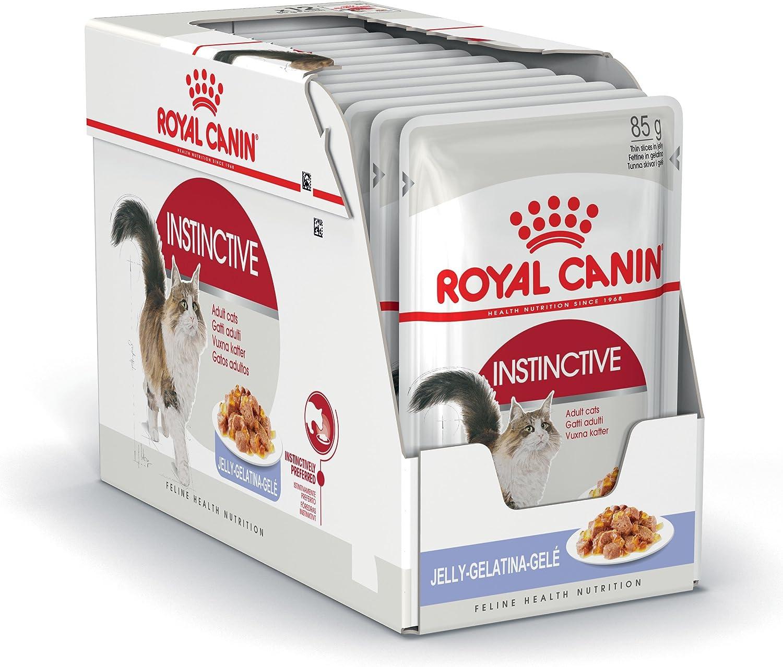 ROYAL CANIN Instinctive Comida Gatos - Paquete de 12 x 85 gr - Total: 1020 gr