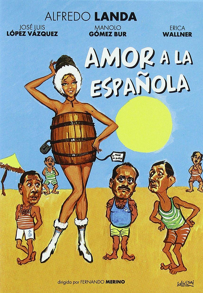 Amor A La Española [DVD]: Amazon.es: Alfredo Landa, Erica Wallner ...