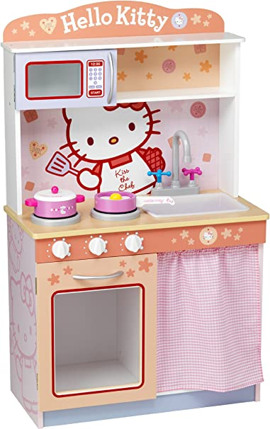 Amazon Com Hello Kitty Modern Kitchen Toys Games
