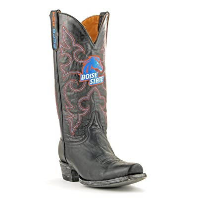 NCAA Boise State Broncos Men's Board Room Style Boots: Sports & Outdoors