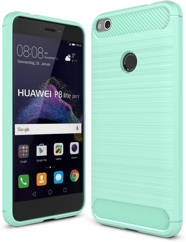 ELTD Huawei P8 Lite 2017 Funda, [Armor Series] Funda Carcasa Case para Huawei P8 Lite 2017, Verde: Amazon.es: Electrónica