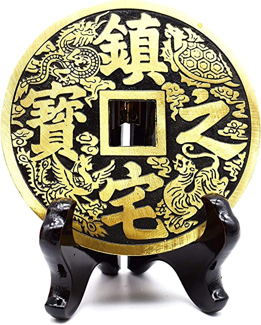 better us Chinese Feng Shui Coins for Wealth and Success 5 Coins