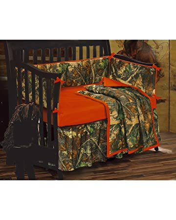 HiEnd Accents Realtree Oak Camo Crib Set