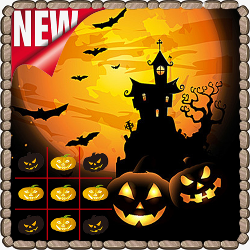 Halloween Games Tic Tac Toe -