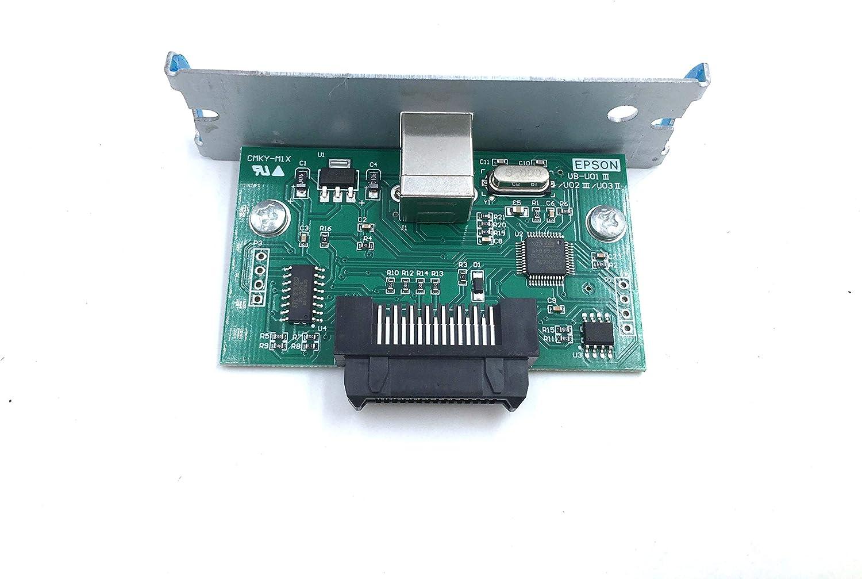 OKLILI UB-U03II C32C824131 M148E USB Port Interface Card for Epson U220 U288 T88III TM-U220 TM-U288 TM-T88III