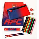 Arsenal FC Official Crest Design Fade Ultimate Stationery Set