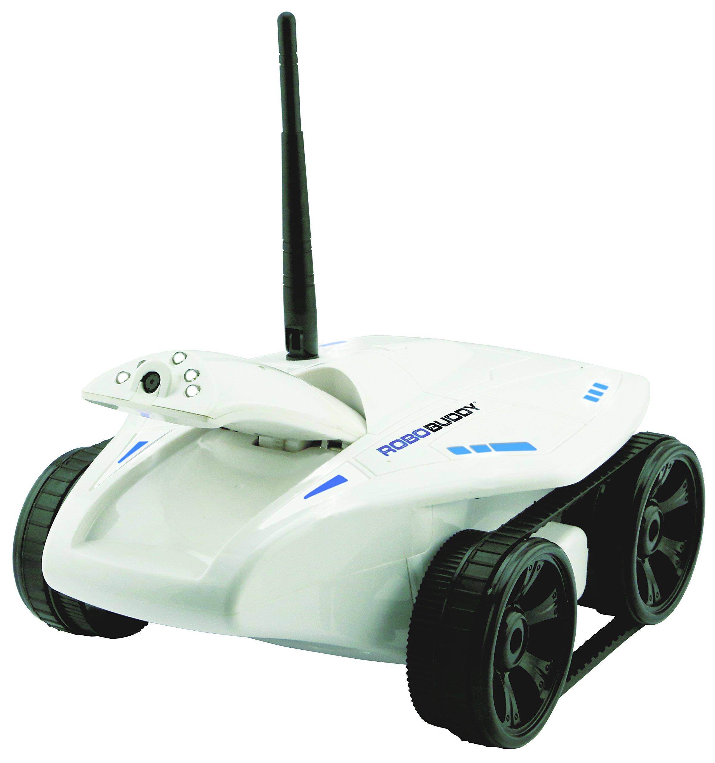 Swift Stream Robobuddy Wireless Remote Control Vehicle, White