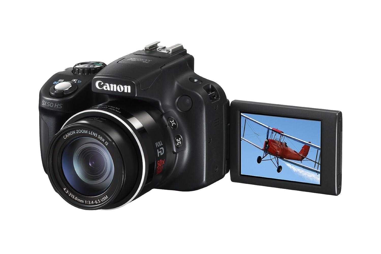 Canon Powershot SX50 HS (12 8 MP, 50 -x opt  Zoom (2 8 Zoll Display)  japanischer Import)