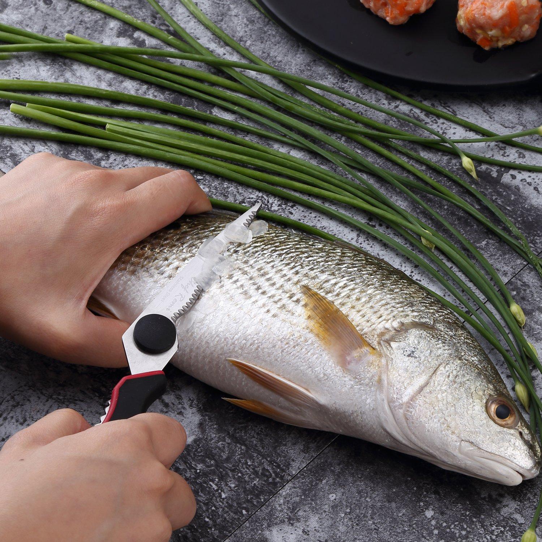Tijeras de Cocina de Alta Resistencia – Galardonadas como las Mejores Tijeras Multiusos, para Pollo, Carnes, Pescado, Aves, Verduras, Hierbas y Barbacoas – Afiladas como un Cuchillo