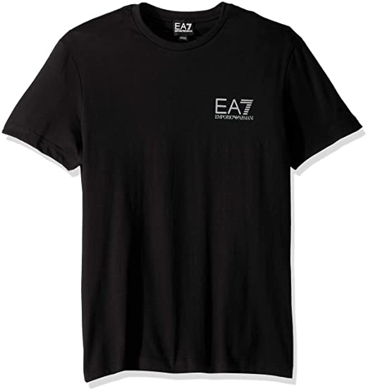 23da3596b6cd Ea7 Train Logo Series Big Logo T-Shirt  Amazon.co.uk  Clothing
