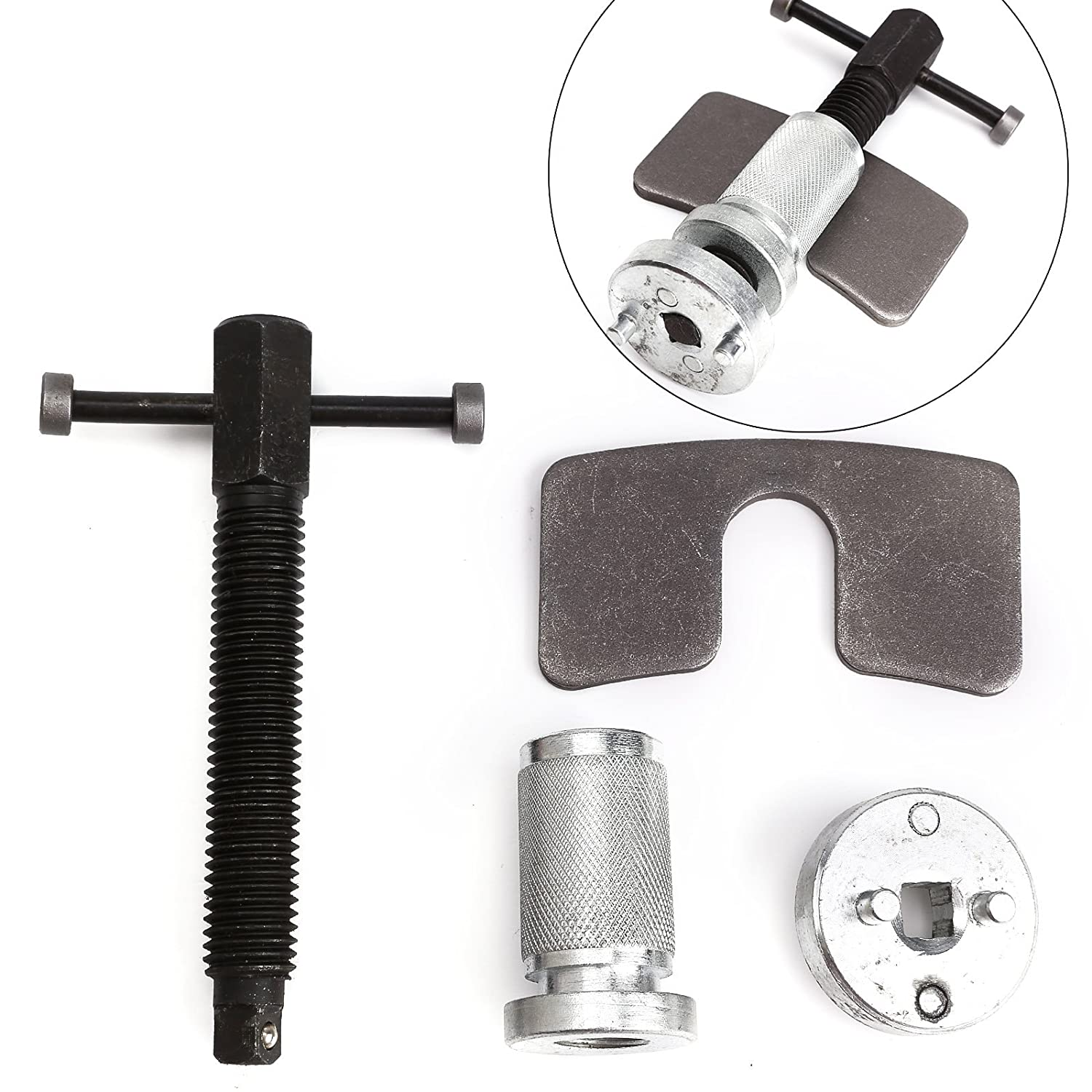 SurePromise Car Brake Caliper Piston Rewind Tool Right Handed Set Wind Back Kit Universal Fitting