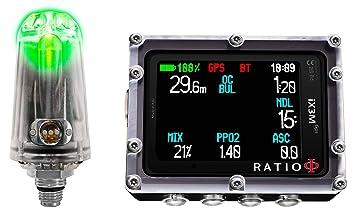 Ratio ix3 m GPS Serie Ordenador de Buceo, ix3M GPS Tech+ w ...