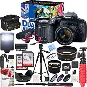 Amazon.com: Canon EOS Rebel T7i - Kit de creador de vídeo ...
