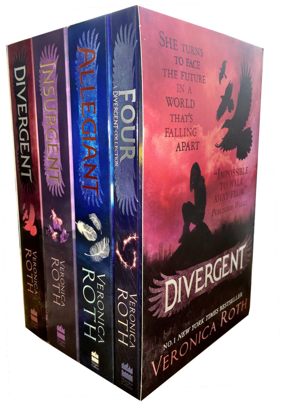 Pack: Divergent Series (+ World Of Divergent): Amazon.es: Roth, Veronica: Libros en idiomas extranjeros