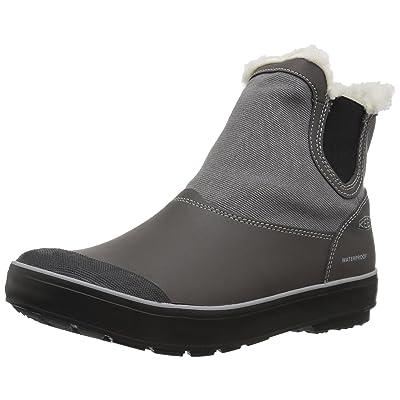 KEEN Women's elsa Chelsea wp-w Snow Boot, Magnet/Gargoyle, 5 M US   Snow Boots