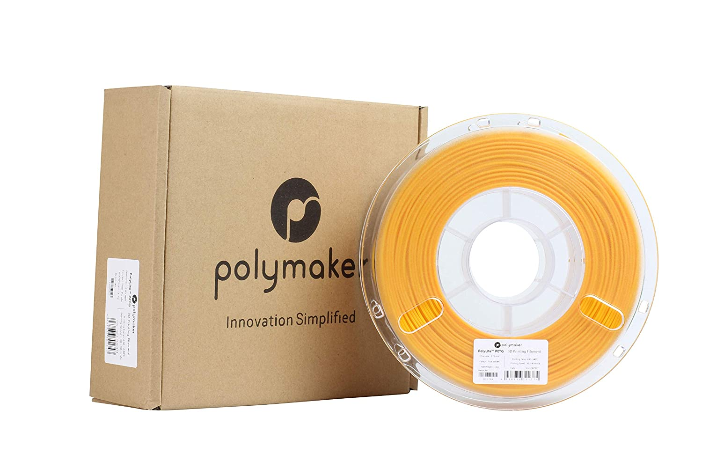 PETG Filament Random Outer Packaging 2.2lb 1Kg Yellow Filament 1.75mm Filament Polymaker PolyLite 3D Printer Filament