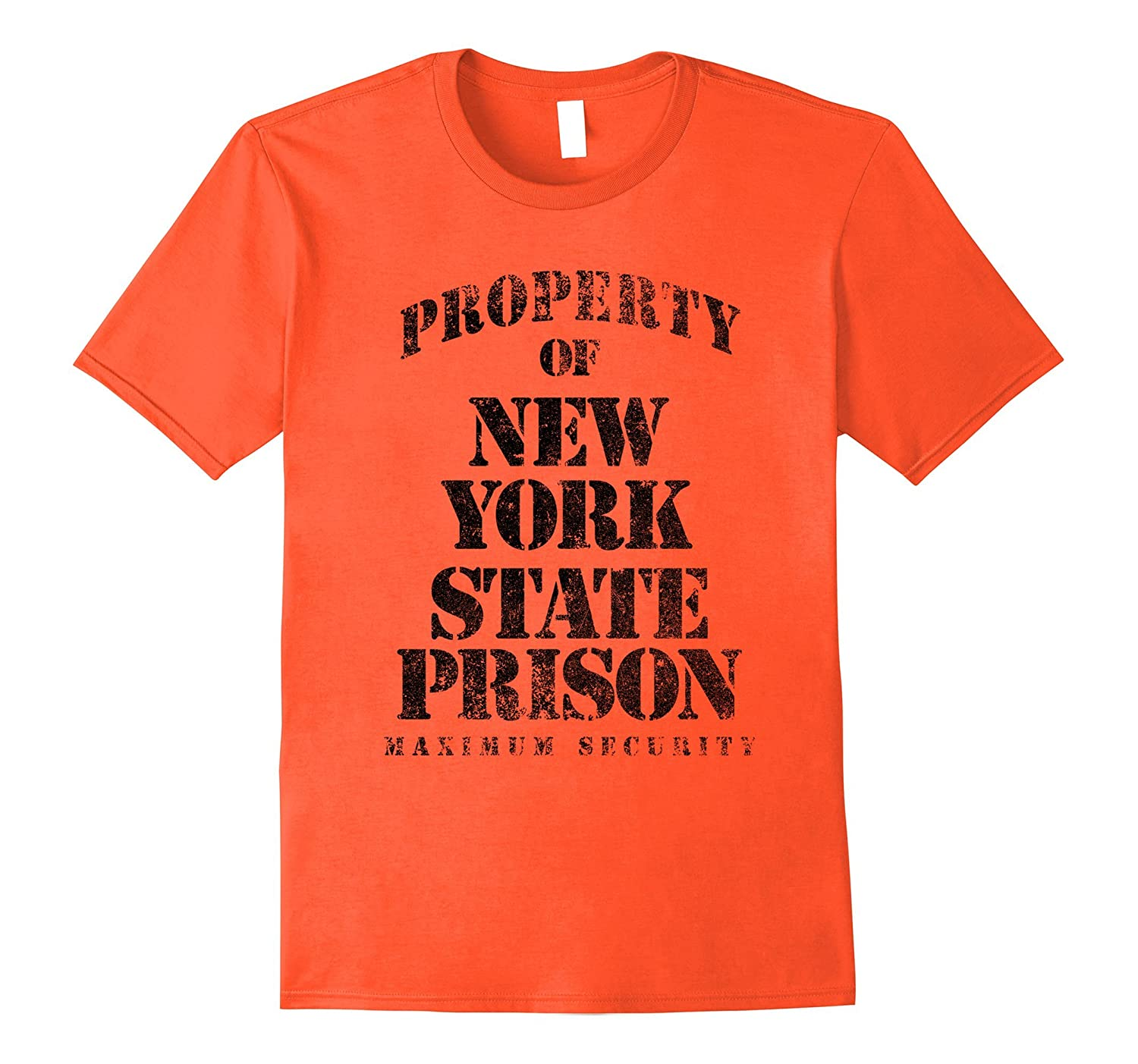 Property of New York Prison Funny T-Shirt-TH