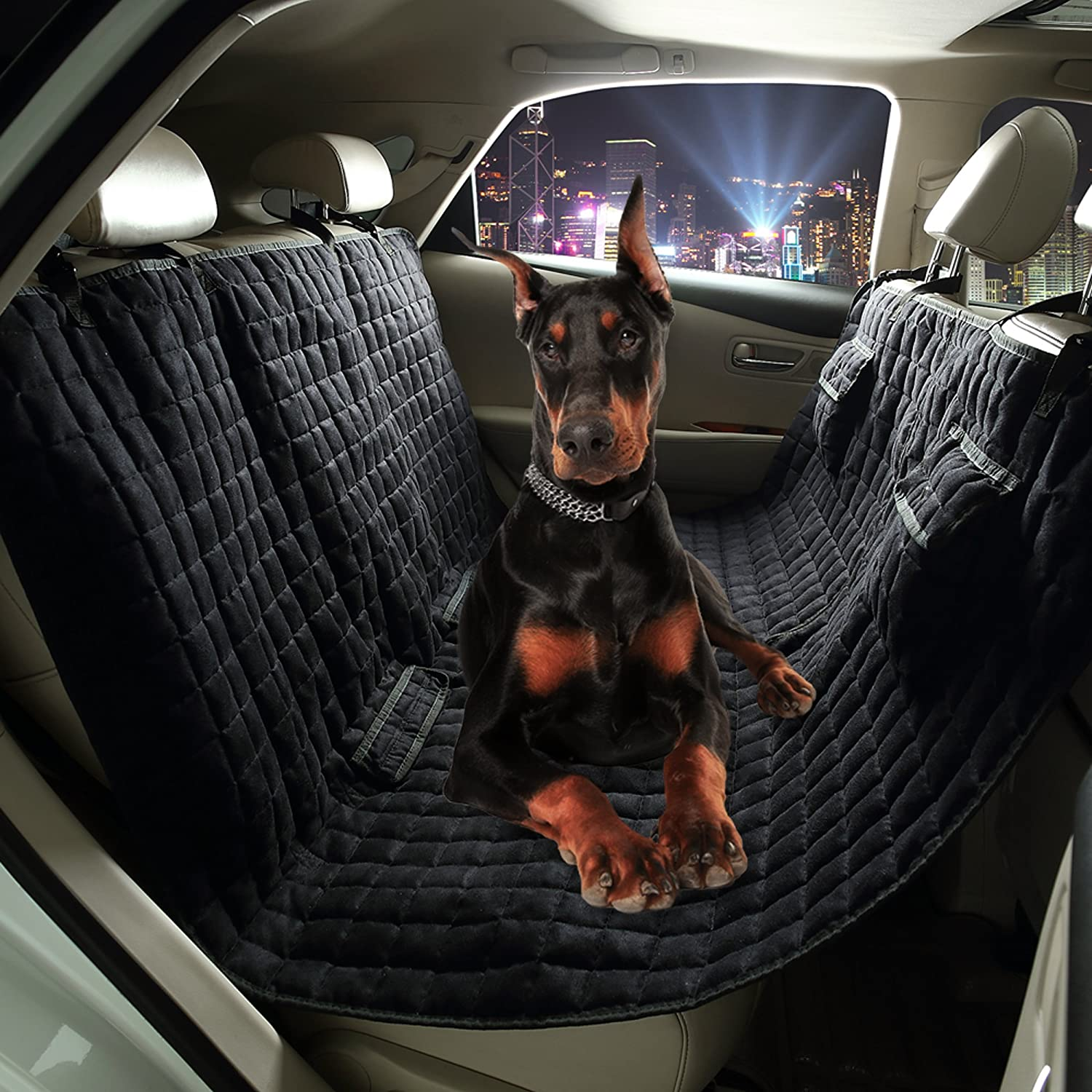 of large dog from seat covers delightful x photo hammock car easy seats