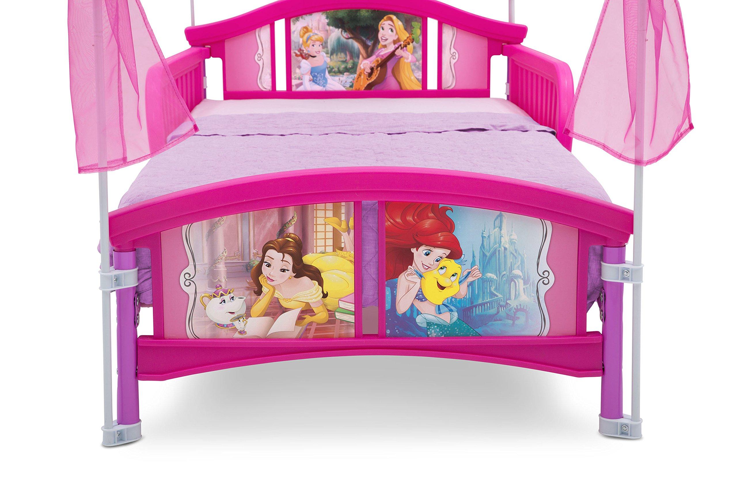 Delta Children Canopy Toddler Bed Disney Princess Ebay