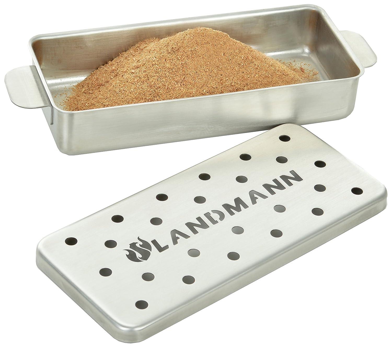 Landmann Selection Smoker Box, Silver 13958