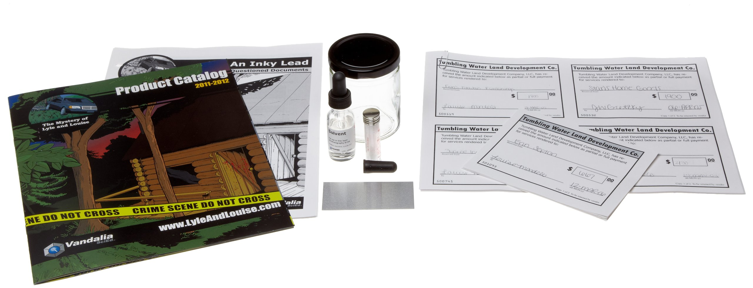 Crosscutting Concepts VXH10132 Lyle and Louise An Inky Lead Questioned Documents Analysis Kit by Crosscutting Concepts (Image #2)