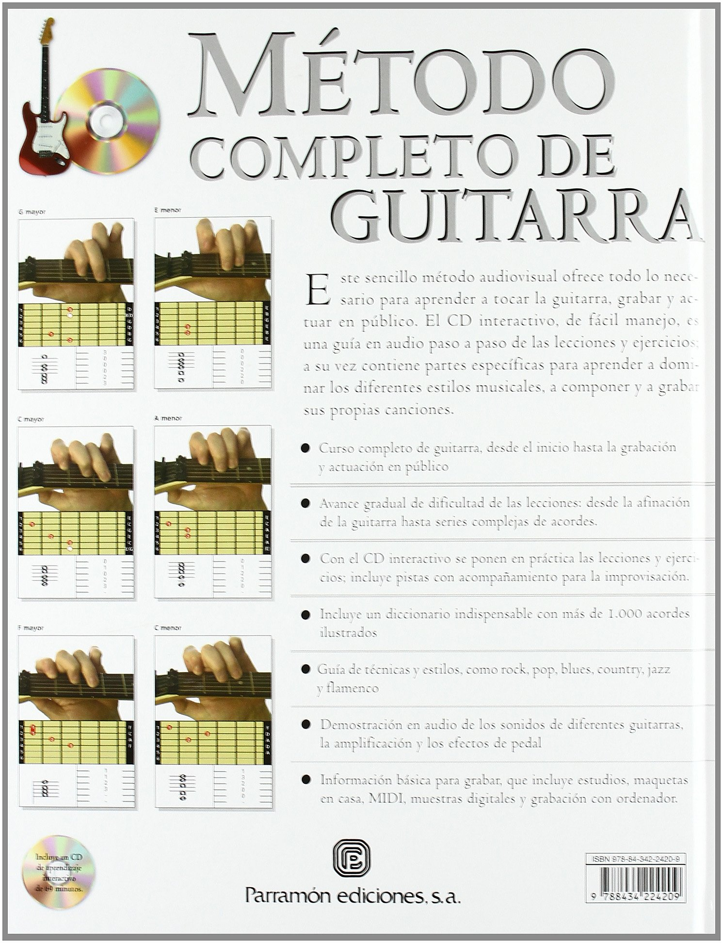 METODO COMPLETO DE GUITARRA (Spanish Edition): Terry Borrows: 9788434224209: Amazon.com: Books