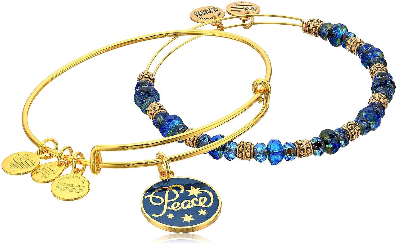 Alex Ani Holiday Peace Bracelet Image 1