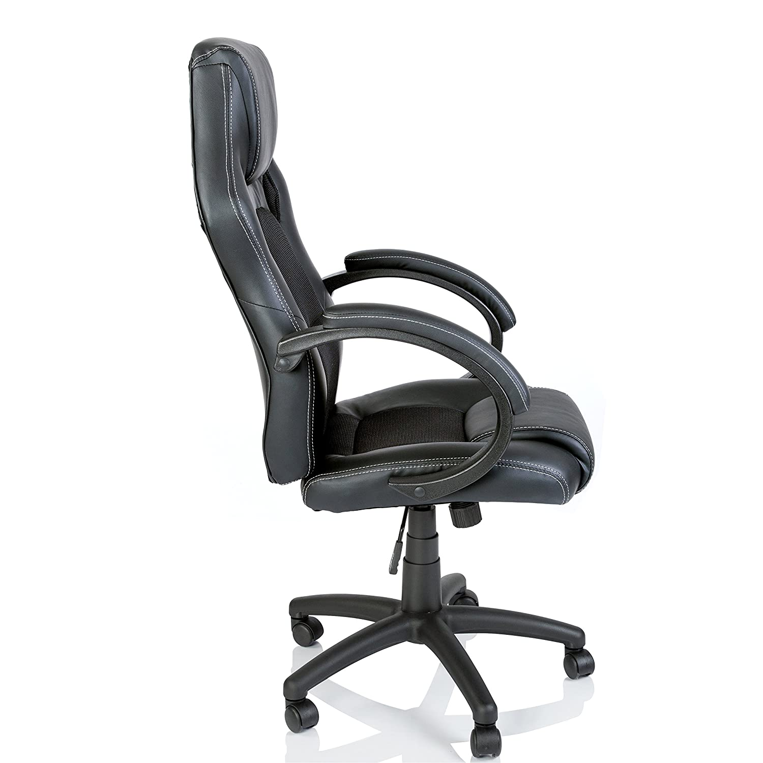TRESKO Racing Style Faux Leather fice Chair Executive Chair