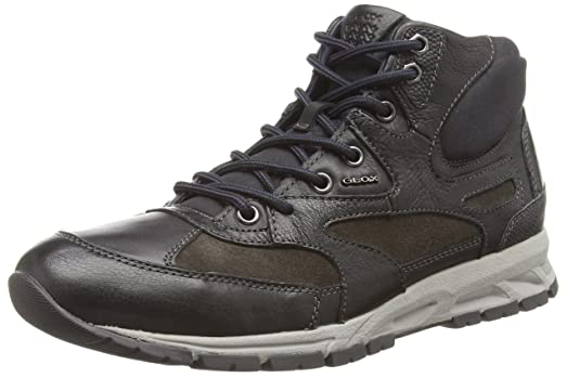 Geox Mens Mdelray3 Walking Shoe, Black, ...