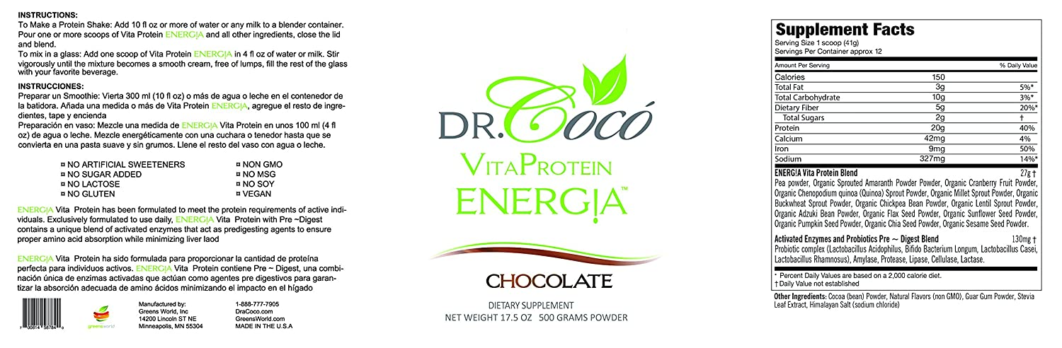 Doctor Formulated 20g Vegan Protein So Delicious You Wont ...