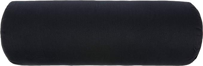 Yoga Direct Y042BOLBLAR1 Traversin de Yoga Unisexe Noir Taille Unique