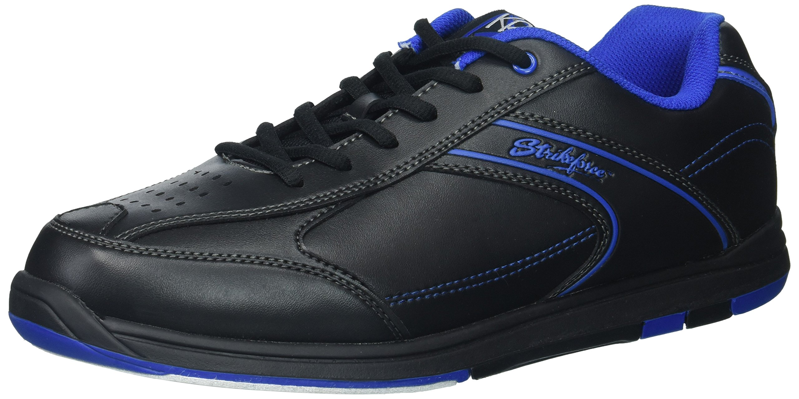 KR Strikeforce M-033-120 Flyer Bowling Shoes, Black/Mag Blue, Size 12 by KR