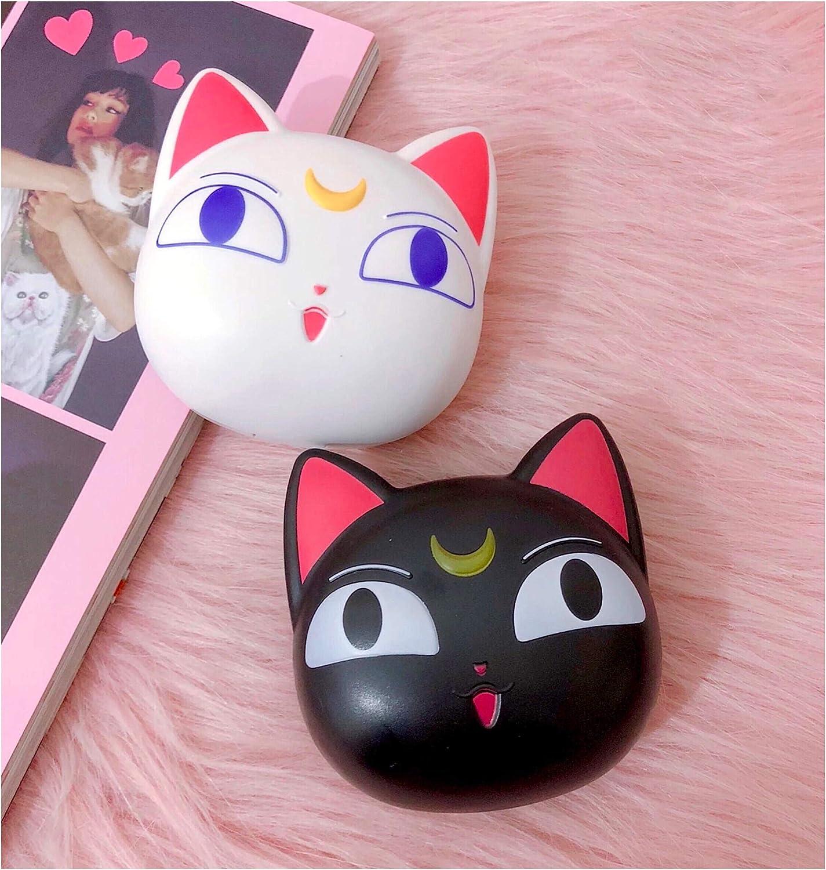 Con Sailor Moon 2 lentes de contacto estuche Kit contenedor Carry On con espejo Cute Luna: Amazon.es: Salud y cuidado personal