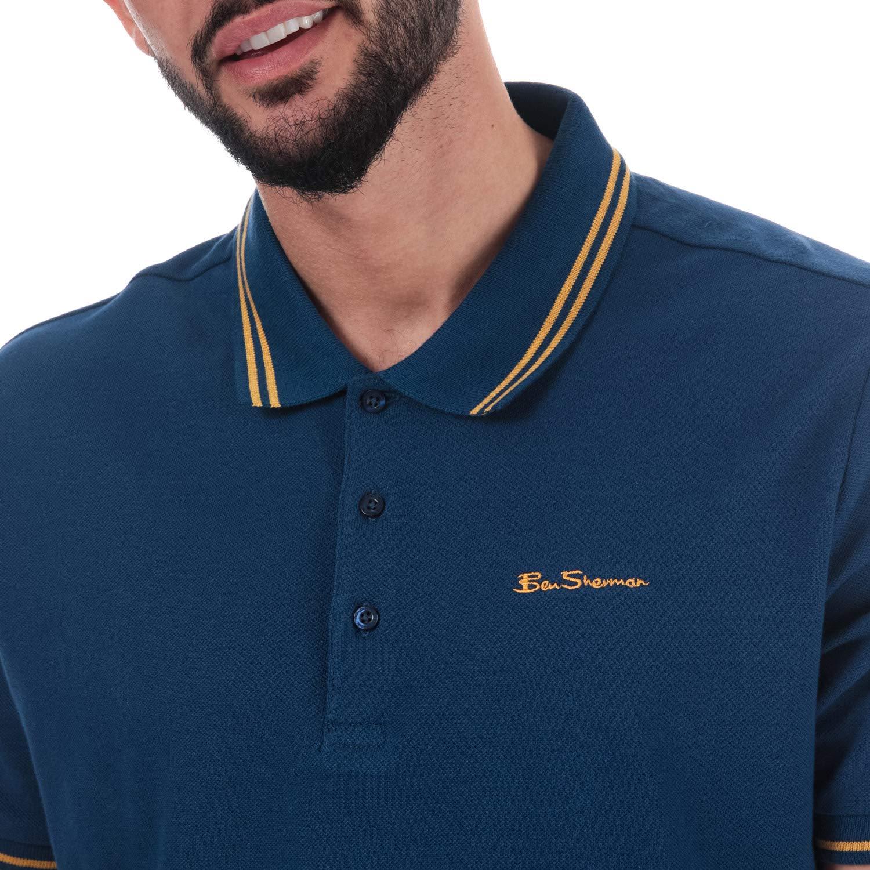 Ben Sherman - Polo - para Hombre Azul Azul S: Amazon.es: Ropa y ...