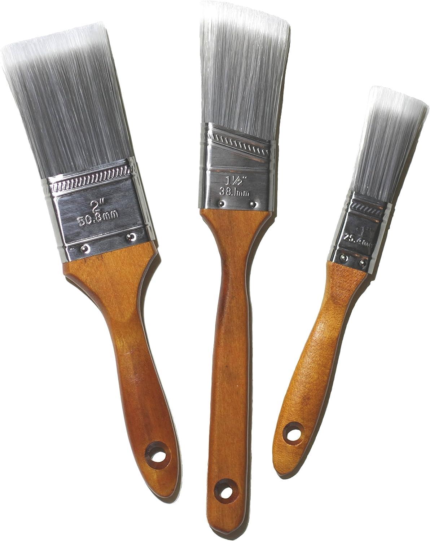 Profi Malerpinsel Set 50 teilig Flachpinsel Holzgriff Satz 0,5-2,5 Zoll