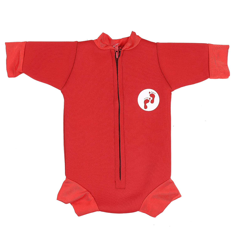 Small,Aqua Ultimate Newborn Baby Neoprene Wetsuit Swimsuit 0-12 Months