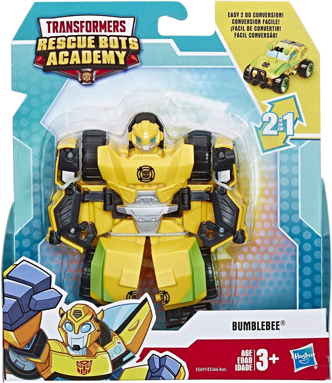 Academia Rescue Bots de Playskool Héroes Transformers Bumblebee al Rock Crawler