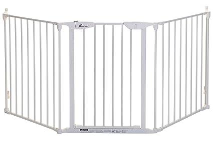 Dreambaby Barrera de Seguridad 3 paneles Newport Adapta-Gate 85.5cm - 210cm blanca