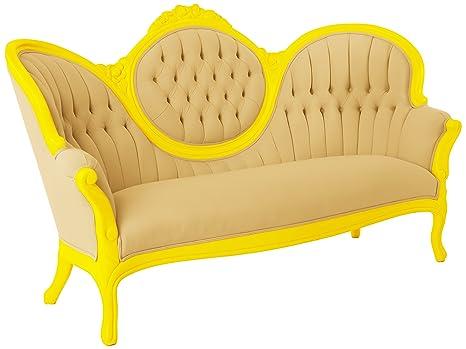 Amazon.com: polart diseños sofá con tapicería de terciopelo ...