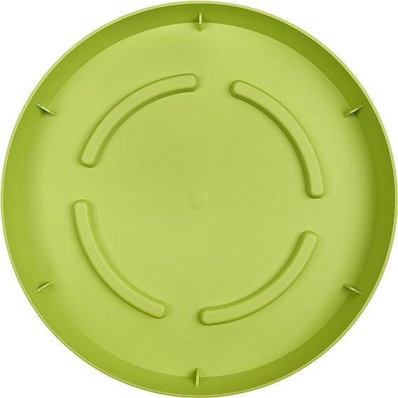 green Emsa 514343 CITY CURVE Saucer /ø 19 cm