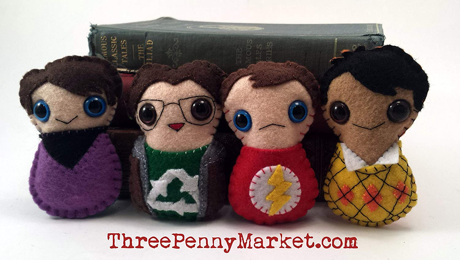 Leonard Hofstadter Big Bang Theory plushie made to order
