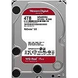 "Western Digital 4TB WD Red Plus NAS Internal Hard Drive - 5400 RPM Class, SATA 6 Gb/s, CMR, 64 MB Cache, 3.5"" - WD40EFRX"