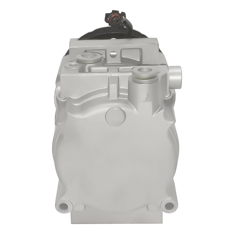 RYC Remanufactured AC Compressor and A//C Clutch EG187