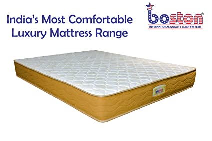 the latest 473bc c35c5 Boston Classic Pocket Spring Mattress for Bed (75 x 36 X 8)
