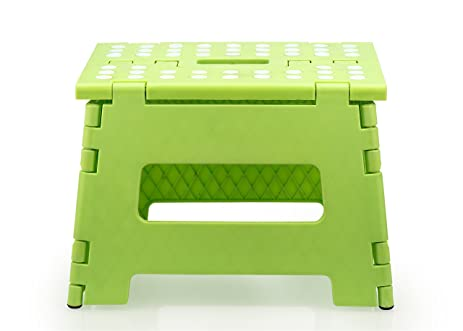 Stepsafe Non Slip Folding Step Stool for Kids and Adults with Handle- 9u0026quot; in  sc 1 st  Amazon.com & Amazon.com: Stepsafe Non Slip Folding Step Stool for Kids and ... islam-shia.org